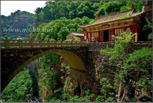苍岩山风景区 让人流连忘返的景区 石家庄苍岩山风景区