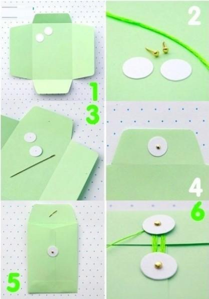 简单礼品包装档案袋的做法图解