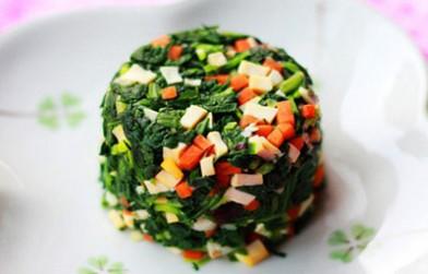 香干马兰头 春食野菜:香干马兰头