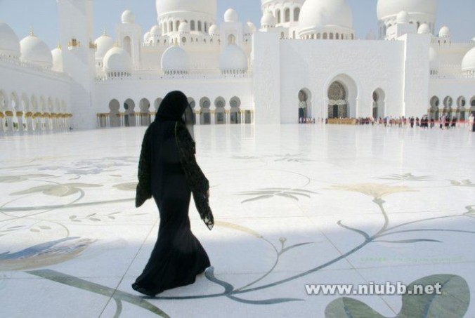 中东最大的清真寺---谢赫扎伊德清真寺