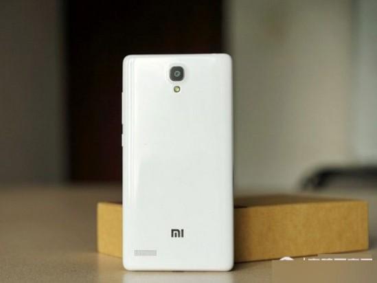 红米Note 4G背面外观