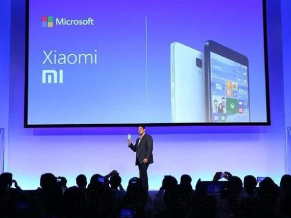 Win10版小米4亮相:小米和微软咋合作