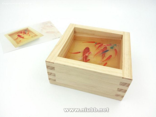 [陈翔颖树脂画实验]系列之制作3d金鱼树脂画教程