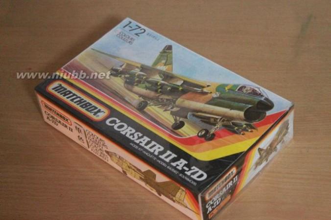 童年回忆-matchbox环球小飞机pk-101美国A7D攻击机