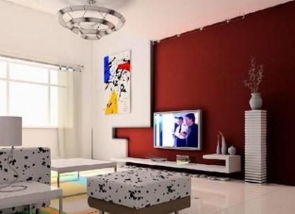 8款时尚客厅电视背景墙图片欣赏