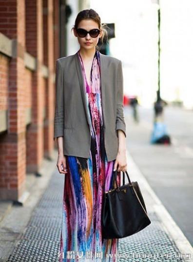 欧美风格服装搭配-美术教案-服装搭配