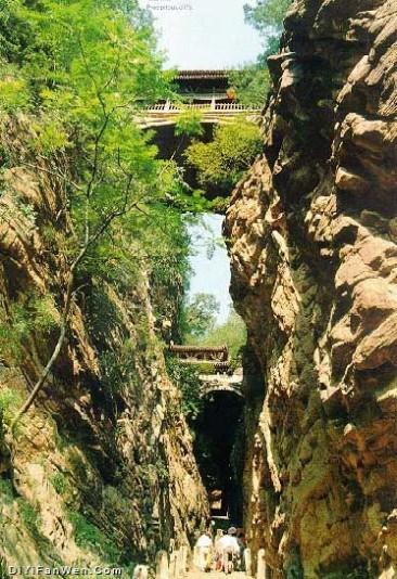 苍岩山风景区图片