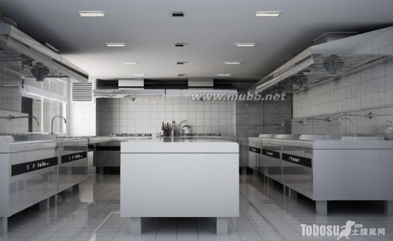 商用厨房设计 商用厨房怎么设计 商用厨房装修效果图