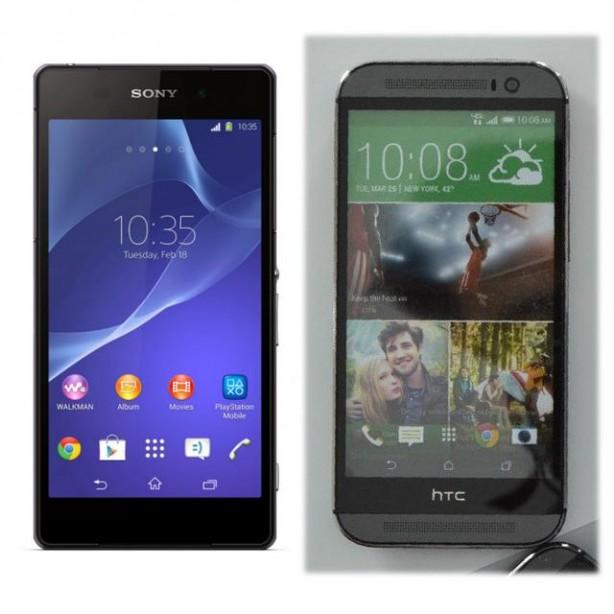 索尼Xperia Z2与新HTC One对比 61阅读