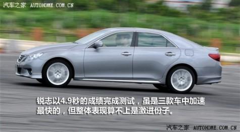 61阅读 一汽丰田 锐志 2010款 2.5V 风尚豪华导航版