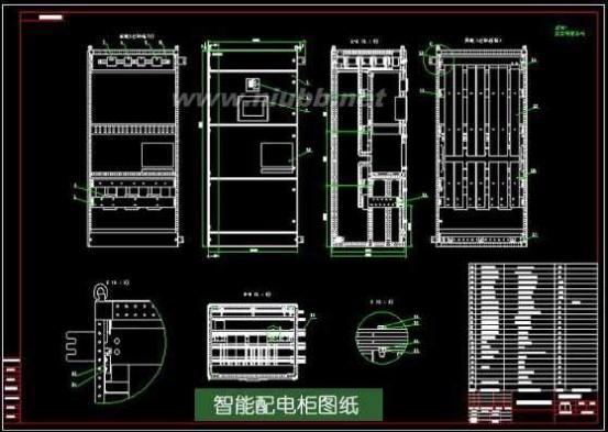 低压配电箱 配电柜型号 配电柜图纸详解
