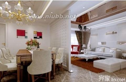 卧室与客厅隔断设计 小户型厅与主卧室隔断设计
