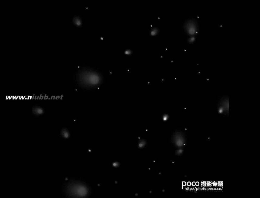 ps制作云雾效果 PS制作漂亮梦幻的粒子效果