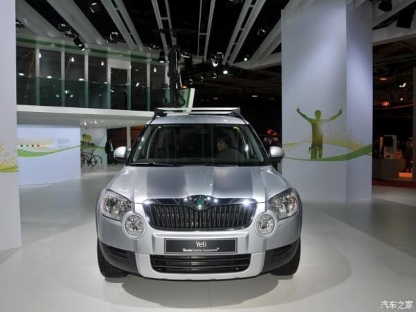 斯柯达斯柯达(进口)Yeti(海外)2010款 基本型