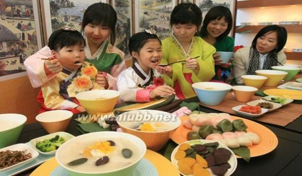 年糕汤 韩国过年必备之美食,年糕汤