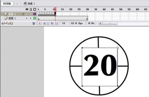 倒计时flash 教你如何用Flash制作30秒倒计时动画