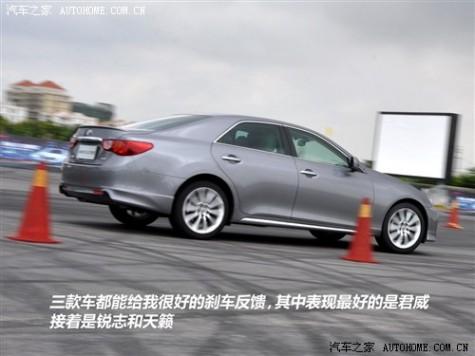 丰田 一汽丰田 锐志 2010款 2.5V 风尚豪华导航版