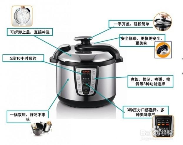 电压力锅什么品牌好 电压力锅哪个牌子好