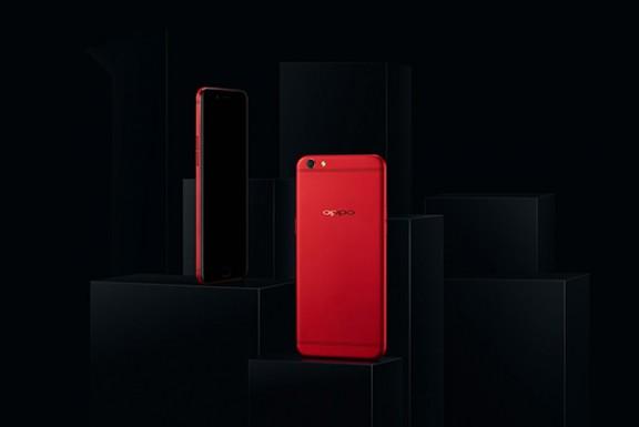 OPPO R9s新年特别版官方图赏:彰显红色时尚