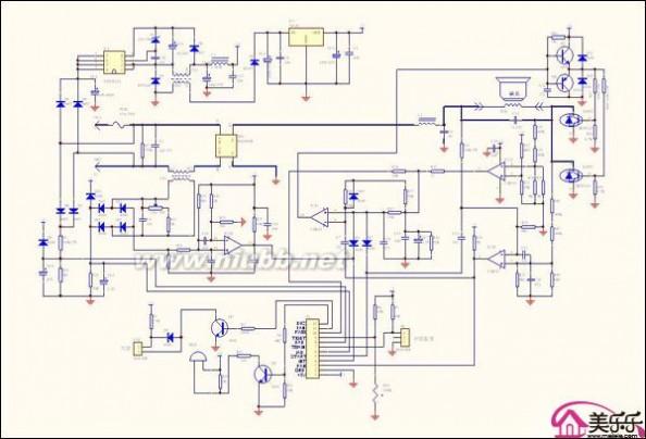 电磁炉工作原理图 电磁炉工作原理图解析