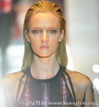t台发型 2014最新T台发型图片 大牌范简约时尚发型