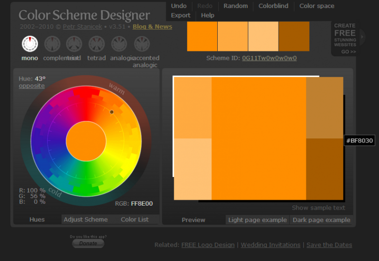 color scheme designer pic