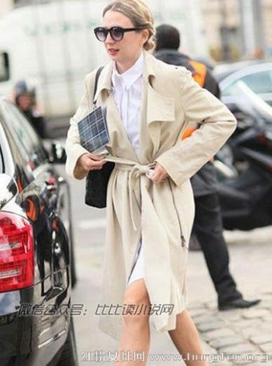 简约风衣 6款最chic易搭风衣造型 简约风衣打造气场女王