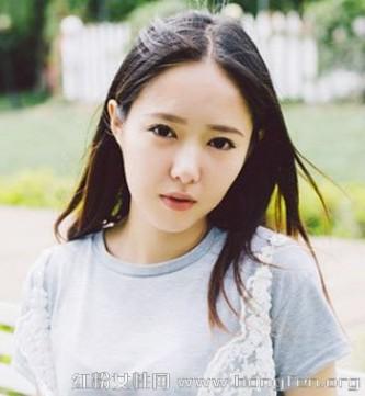 宽脸适合的发型 宽脸适合的中分刘海发型 5款小清新发型图片