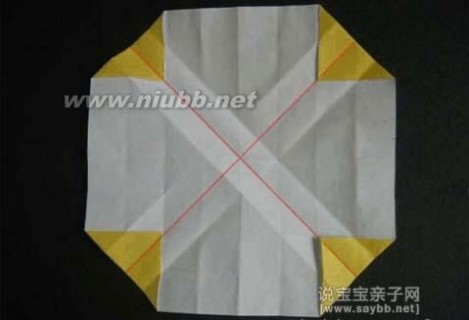 玫瑰花折纸图解 美丽的川崎玫瑰折纸教程详细图解