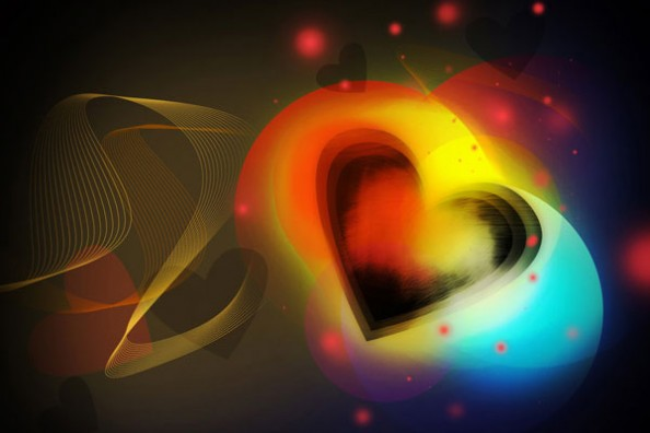 Create Colorful Valentine's Day