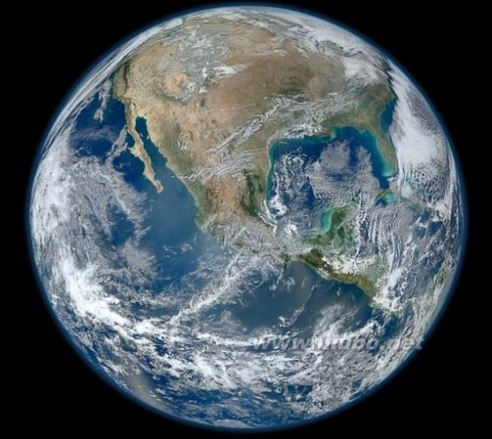 地球素颜 最新地球素颜照曝光 原来这才是地球的真实面目